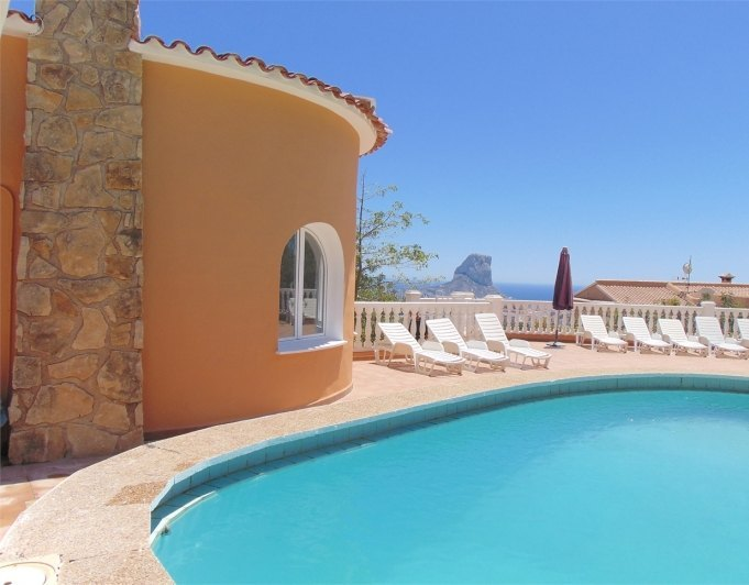 Beautiful and cozy villa  in Calpe with private pool