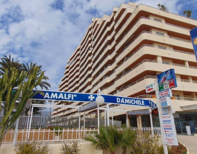Apartment in Calpe on the beachfront