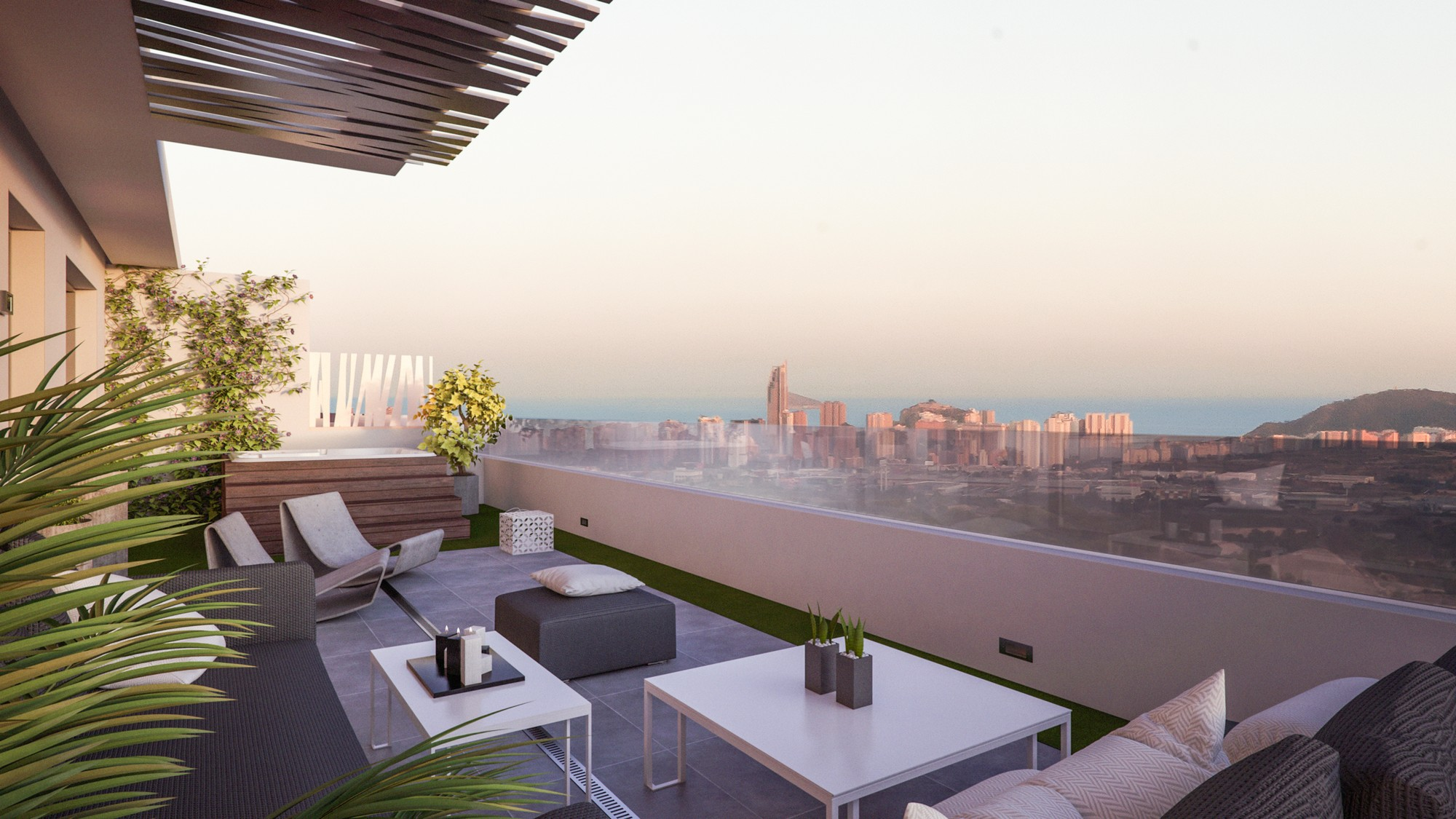 Penthouse Finestrat Real estate immo