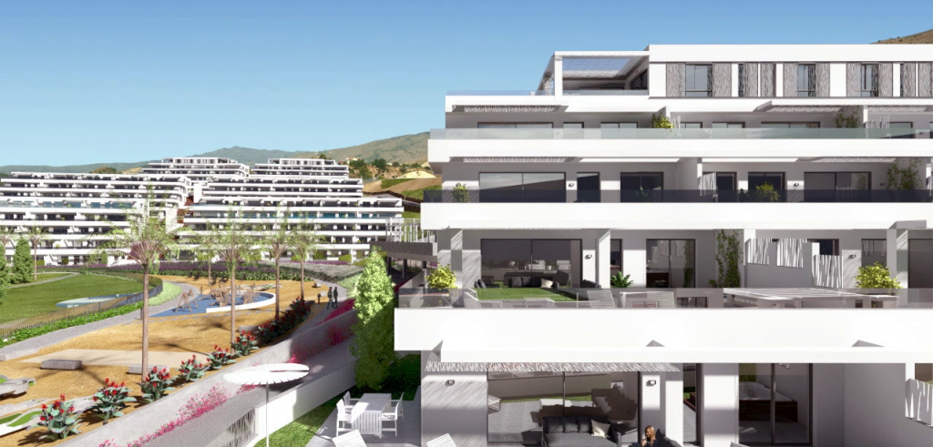 New Project Penthouses near Benidorm