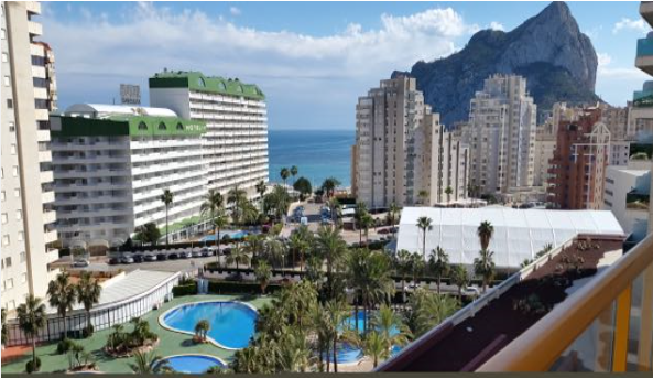 Apartment In Calpe near beach
