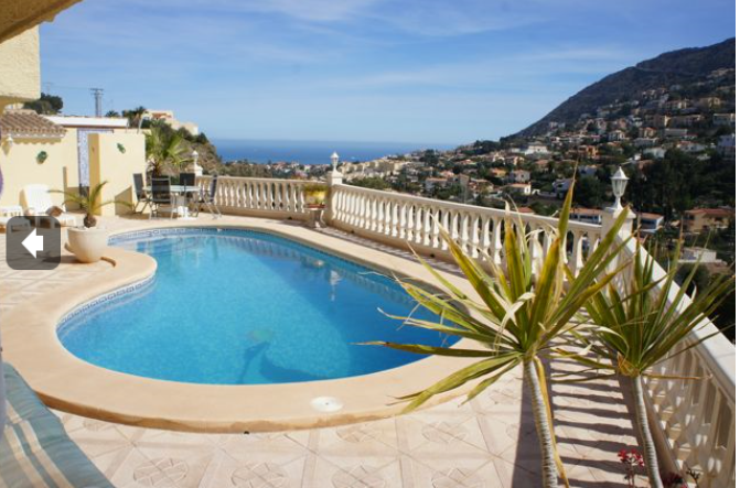 A Charming villa In Calpe