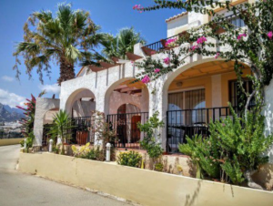Two Level Bungalow in Calpe