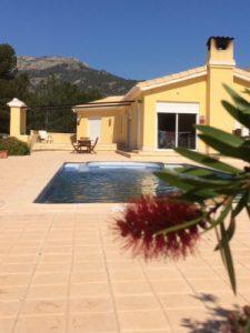A Spacious Stylish modern villa in Relleu