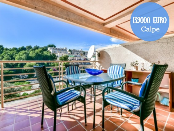 Beautiful, Cozy Apartment in Calpe NOW 129900 EURO !!!